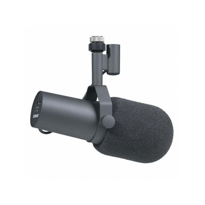 SHURE SM7B - dynamický mikrofon studiový s velkoplošnou membránou