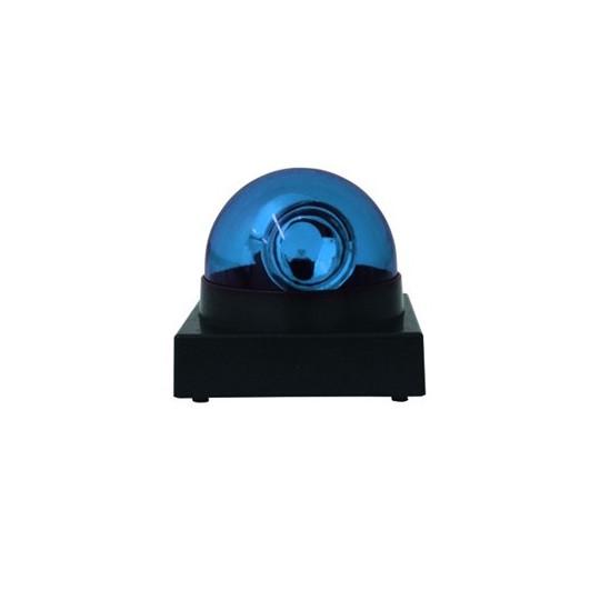 Eurolite LED maják s houkačkou, modrý