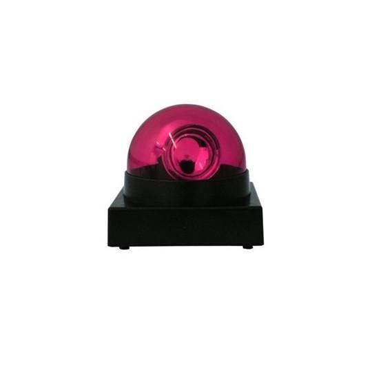 Eurolite LED maják s houkačkou, červený