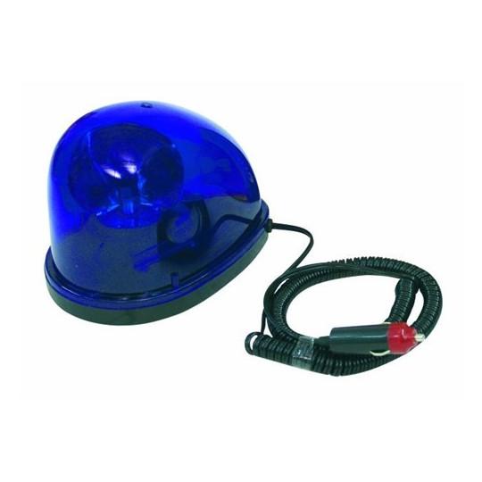 Maják policejní Starsky, 12V/21W, modrý