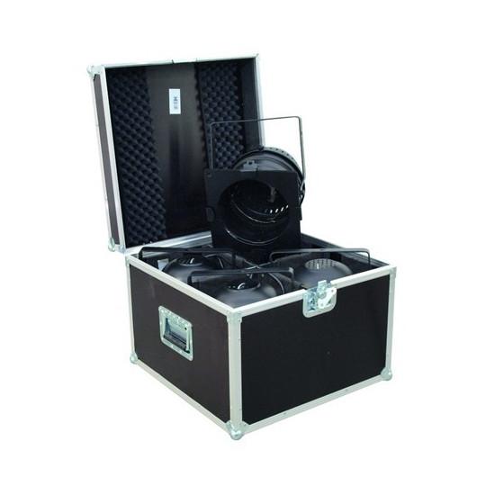 Transportní case pro 4 x PAR-LED 64 spot, krátký
