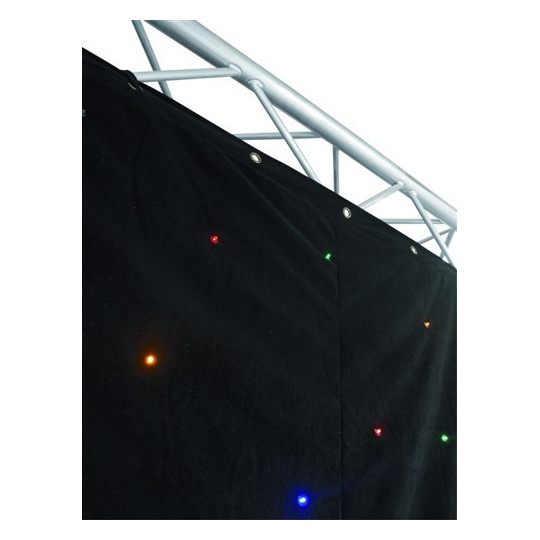 Eurolite CRT-120 LED multicol. sound 3x2 m