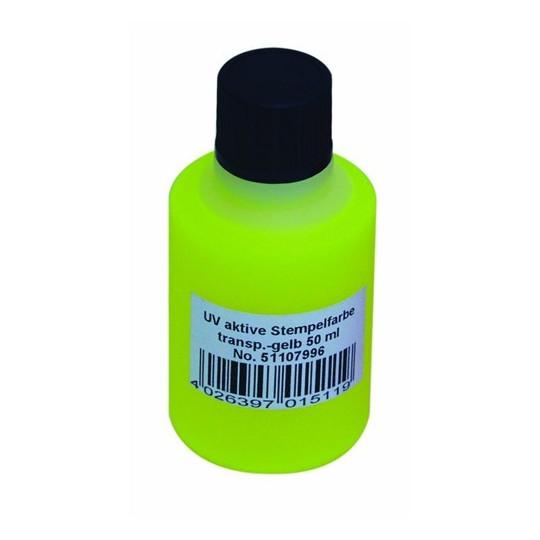 UV razítkovací barva 50ml, žlutá
