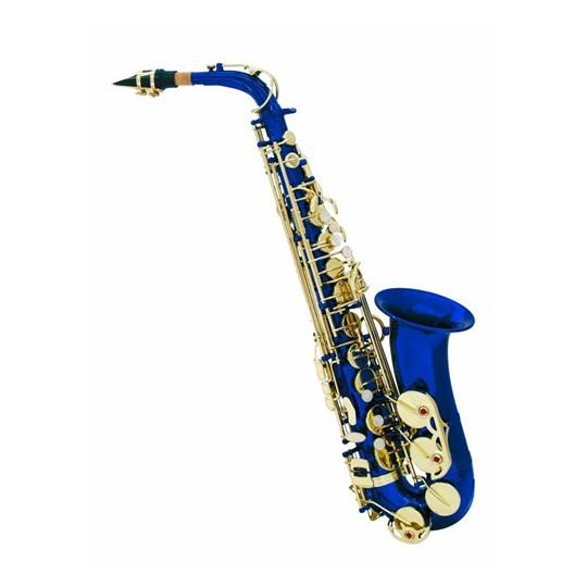 Dimavery SP-30 Es Alt saxofon, modrý