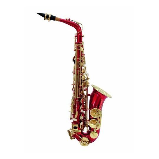 Dimavery SP-30 Es Alt saxofon, červený