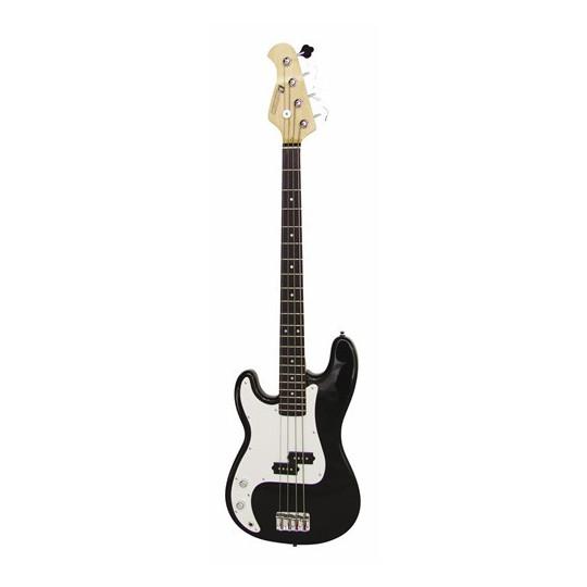 Dimavery PB-320 E-Bass LH, černý