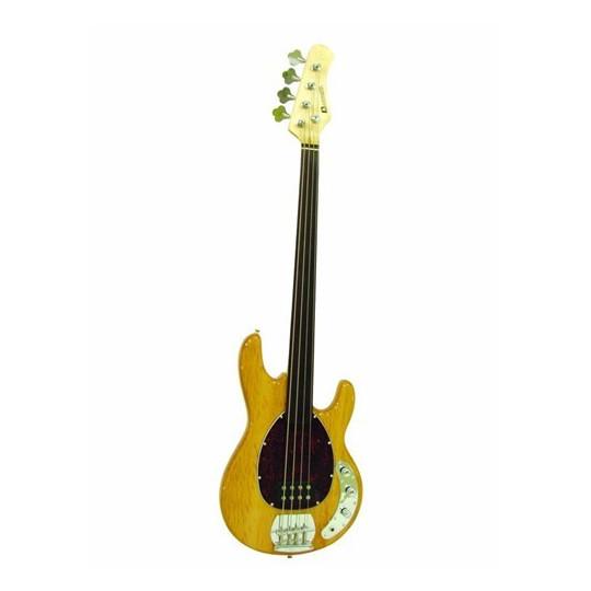 Dimavery MM-501 E-Bass, Fretless, přírodní