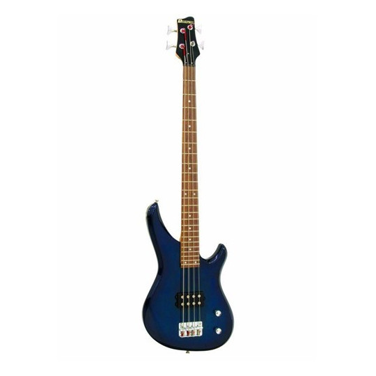 Dimavery SB-201 elektrická baskytara, modrá
