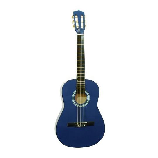Dimavery AC-300 klasická kytara 3/4, modrá