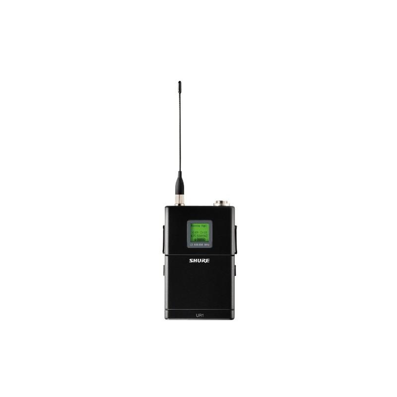 SHURE UR1 - bodypack vysílač pro řadu UHF-R