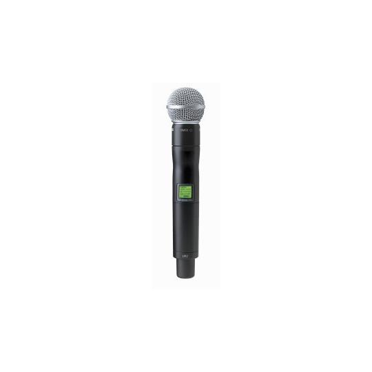 SHURE UR2/SM58 - mikrofon/vysílač pro řadu UHF-R s mikrofonem SM58