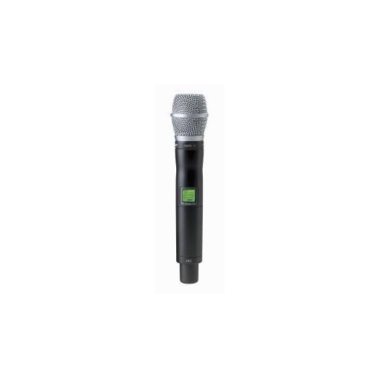 SHURE UR2/SM86 - mikrofon/vysílač pro řadu UHF-R s mikrofonem SM86