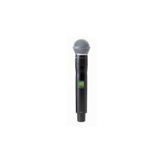 SHURE UR2/BETA58 - mikrofon/vysílač pro řadu UHF-R s mikrofonem BETA 58