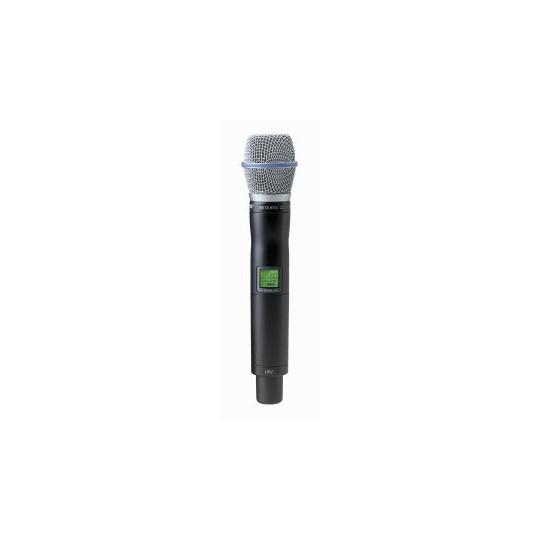 SHURE UR2/BETA87A - mikrofon/vysílač pro řadu UHF-R s mikrofonem BETA 87A