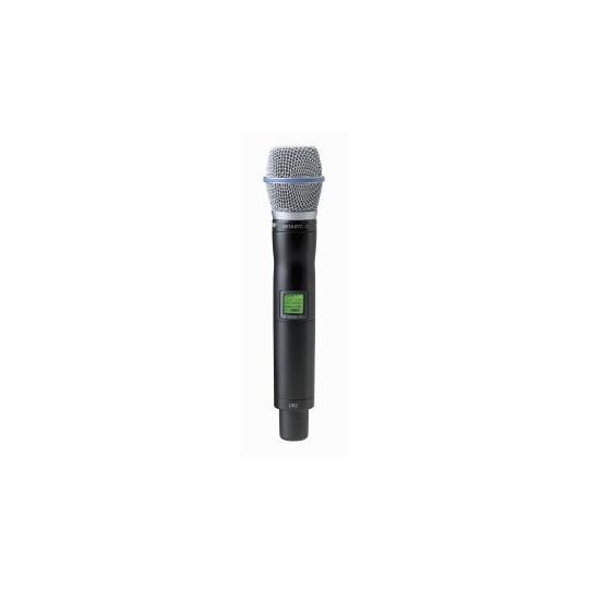 SHURE UR2/BETA87C - mikrofon/vysílač pro řadu UHF-R s mikrofonem BETA 87C