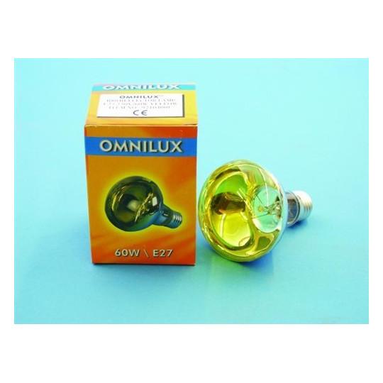 230V/60W E27 Omnilux, žlutá
