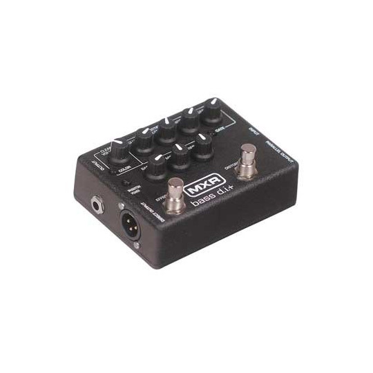 Dunlop M80 - baskytarový pedál MXR Bass D.I. distortion