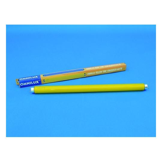 Trubice 15W 450x26mm G13 Omnilux, žlutá