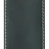PLANET WAVES 25LS00-DX kožený kytarový řemen Deluxe - černý