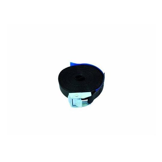 Pás vázací S200 se zámkem, 5m, 25mm, černý