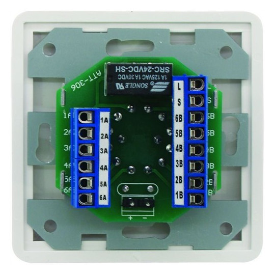 Omnitronic ELA programový regulátor mono bílý