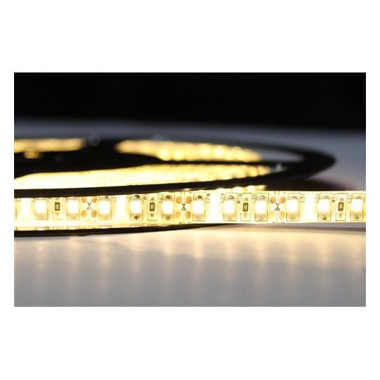 LED páska SMD3528, teplá bílá, 12V, 1m, IP54, 120 LED/m