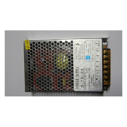eLite síťový zdroj pro LED osvětlení, 75W/24V