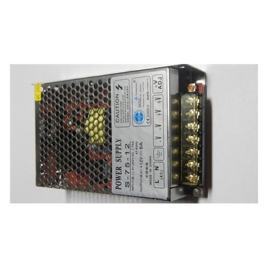 eLite síťový zdroj pro LED osvětlení, 75W/12V