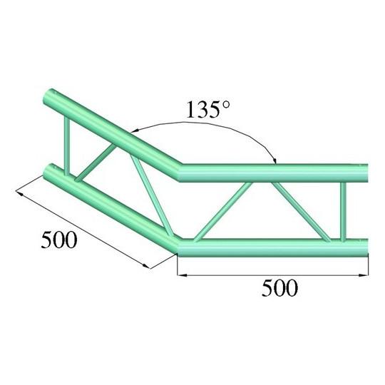 Bilock BQ2-PAC 23V, 135°