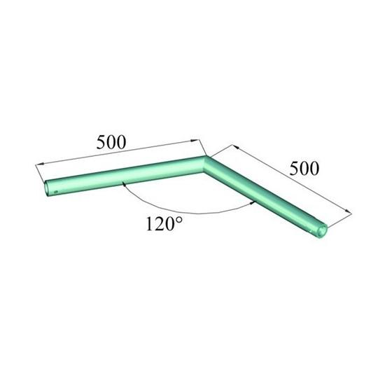 Decolock DQ1-C22 2 koncový roh 120°
