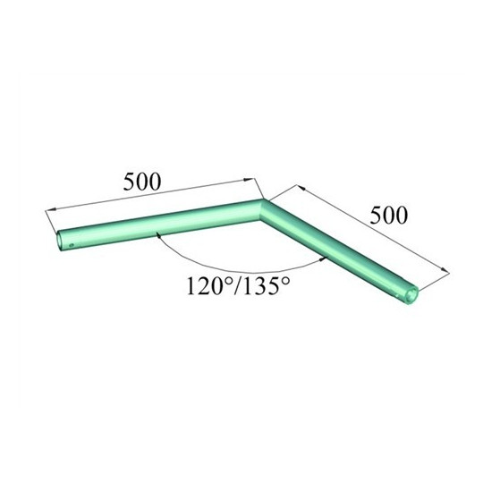 Decolock DQ1-C23 2 koncový roh 135°