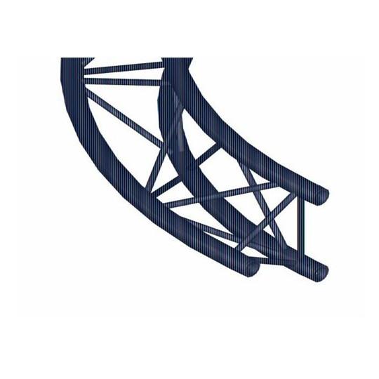 Trilock 6082 kruhový díl, d - 3 m, vnitřní, 90°, vrcholem vzhůru