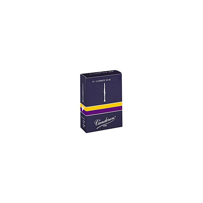 VANDOREN CR1025 -plátky pro B klarinet, tvrdost 2,5