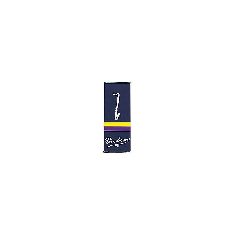 VANDOREN CR122 - plátky pro Bas klarinet tvrdost 2