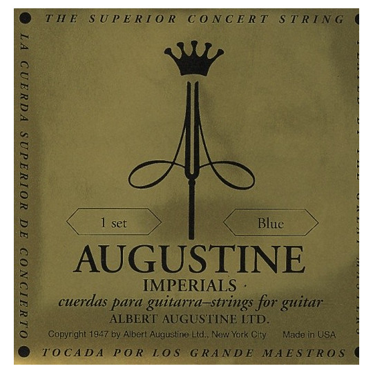 Augustine struny pro klasickou kytaru Zlatá sada