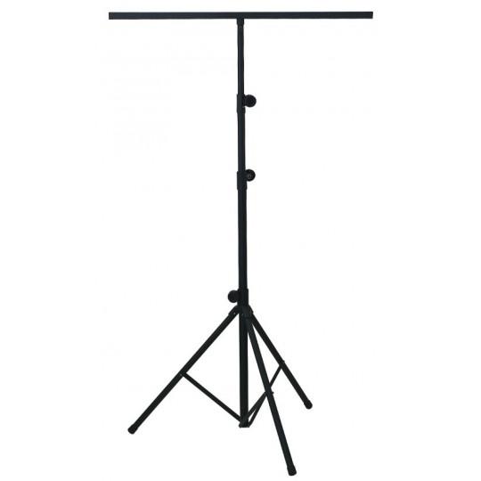 Vysoký stojan pro osvětlení BSX Ocel, černá
