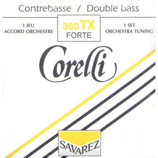 Corelli 380 TX struny pro kontrabas
