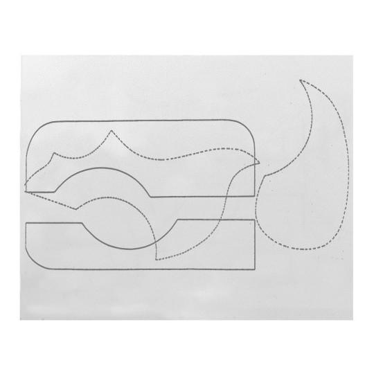 Úderová deska Fire&Stone Chránič krytu Želvovina