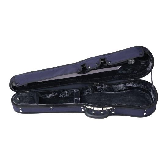 Gewa Tvarové pouzdro pro housle Liuteria Maestro 4/4 šedý plyš