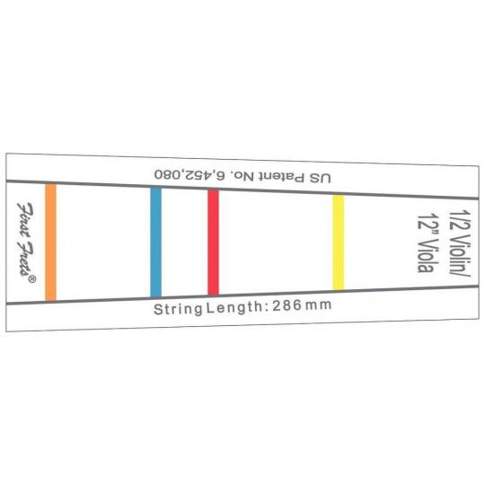 """Gewa Značení na hmatníku First Fret 286 mm pro 1/2 housle a 30.5 cm (12"""") violu"""
