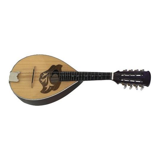 Gewa Plochá mandolína Deska a spodek,masív