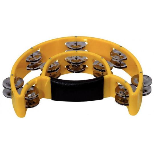 Gewa Okovy-kroužky Půlměsíc, 20 zvonků Žlutá