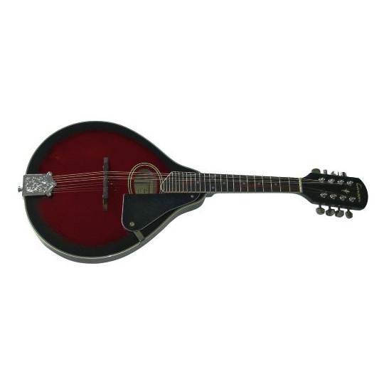 GEWApure Folk-Mandolína Tenson A–1 Oval Black Cherry