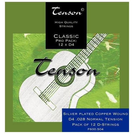 GEWApure Struny pro Klasickou kytaru Tenson Nylon High tension