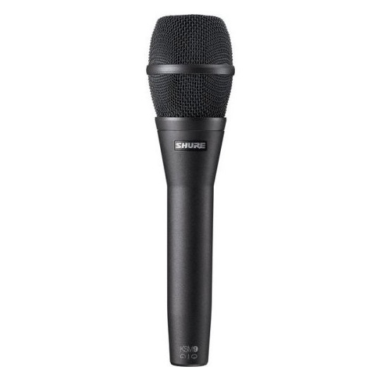 SHURE KSM9/CG - kondenzátorový mikrofon černý