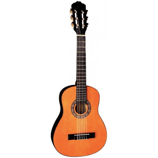 GEWApure Koncertní kytara Almeria Classic 1/4 tónovaná do medové barvy