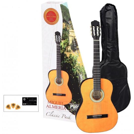Almeria Classic Pack 4/4 Kytara tónovaná do medové barvy