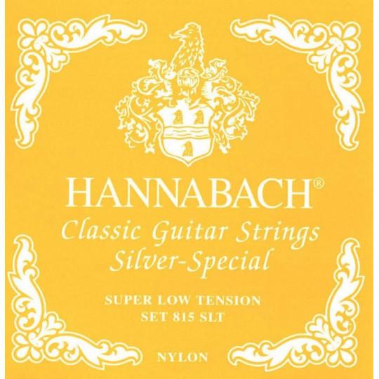 Hannabach Struny pro klasiku Silver special Sada