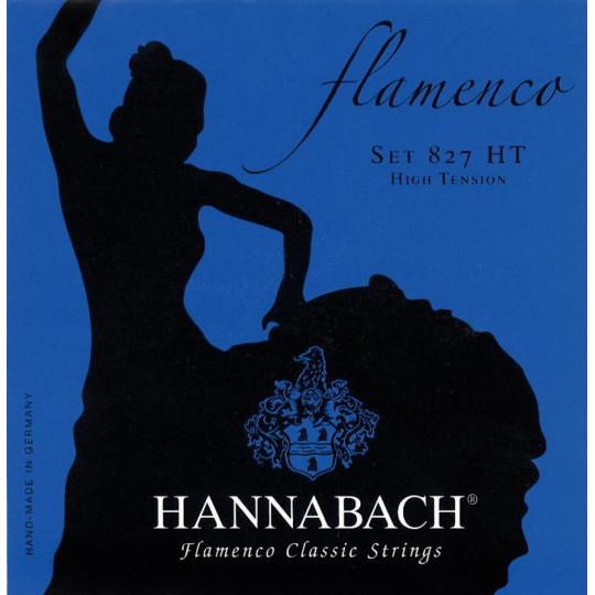 Hannabach Struny pro klasickou kytaru série 827 High tension Flamenco Classic Sada