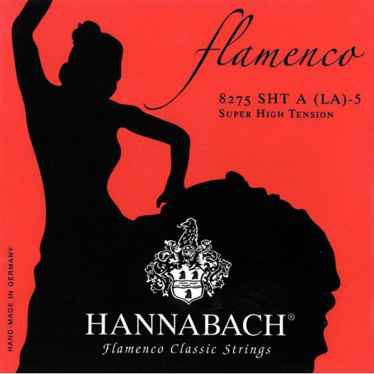 Hannabach Struny pro klasickou kytaru série 827 Super High Tension Flamenco Classic Sada